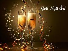 Gratis nyårskort - Gott Nytt År hälsningar | Nyårskort, Gott nytt år,  Champagne